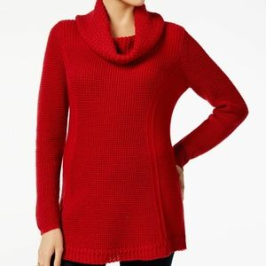 Style&CO PS Red Pull Over Sweater 6AO45